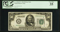 Fr. 2100-D* $50 1928 Federal Reserve Note. PCGS Very Fine 35