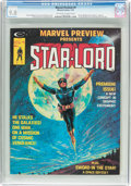 Magazines:Science-Fiction, Marvel Preview #4 Star-Lord (Marvel, 1976) CGC NM/MT 9.8 Off-whiteto white pages....