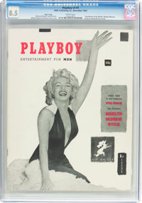 Playboy #1 Page 3 Copy (HMH Publishing, 1953) CGC VF+ 8.5 White pages