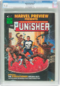 Magazines:Superhero, Marvel Preview #2 The Punisher (Marvel, 1975) CGC NM/MT 9.8Off-white to white pages....