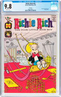 Silver Age (1956-1969):Humor, Richie Rich #33 File Copy (Harvey, 1965) CGC NM/MT 9.8 Off-white pages....