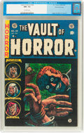 Golden Age (1938-1955):Horror, Vault of Horror #34 Gaines File Copy (EC, 1954) CGC NM+ 9.6Off-white pages....