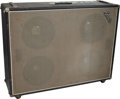 Musical Instruments:Amplifiers, PA, & Effects, 1968 Fender Bassman Black Bass Speaker Cabinet, Serial #3694....