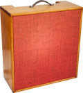 Musical Instruments:Amplifiers, PA, & Effects, Circa 1950s Natural Guitar Speaker Cabinet....