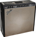Musical Instruments:Amplifiers, PA, & Effects, Circa 1966 Fender Super Reverb Black Guitar Amplifier....