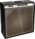 Musical Instruments:Amplifiers, PA, & Effects, 1971 Fender Super Reverb Black Guitar Amplifier, Serial #A52491....