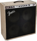 Musical Instruments:Amplifiers, PA, & Effects, 1961 Fender Concert Brown Guitar Amplifier, Serial #02004....