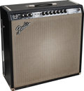 Musical Instruments:Amplifiers, PA, & Effects, 1966 Fender Super Reverb Black Guitar Amplifier, Serial #13410....