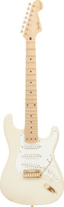 Musical Instruments:Electric Guitars, Circa 1990s Fender Maestro Alex Gregory Signature StratocasterCream Solid Body Electric Guitar, Serial #MAG0003....