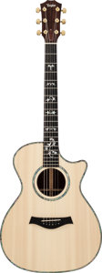Musical Instruments:Acoustic Guitars, 1996 Taylor 912C Natural Acoustic Guitar, Serial #960629137....