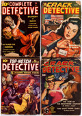 Pulps:Detective, Assorted Detective Pulps Group of 16 (Various, 1938-53) Condition:Average GD.... (Total: 16 Items)