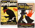 Pulps:Detective, World Man Hunters V1#1 and 3 Group (Fiction Guild, 1934)....(Total: 2 Items)