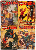Pulps:Western, Speed Western Stories Group of 16 (Trojan Publishing, 1943-45) Condition: Average GD/VG.... (Total: 16 Items)