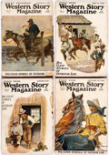 Pulps:Western, Western Story Magazine Box Lot (Street & Smith, 1920-41) Condition: Average GD....