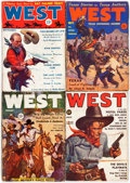 Pulps:Western, West Group of 15 (Standard, 1935-53) Condition: Average GD.... (Total: 15 Items)