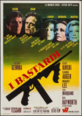 "Movie Posters:Crime, I Bastardi (Warner Brothers-Seven Arts, 1968). Italian 2 - Fogli (39"" X 55""). Crime.. ..."