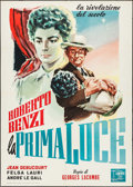 "Movie Posters:Foreign, Prelude to Glory (Amore Film, 1956). Italian 2 - Fogli (39.25"" X 55""). Foreign.. ..."
