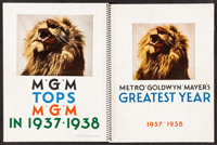 """MGM Exhibitors Book (MGM, 1937-1938). Exhibitor Book (70 Pages, 9.5"""" X 12.25""""). Miscellaneous"""