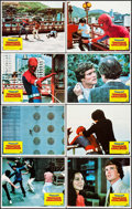 "Movie Posters:Action, Spider-Man: The Dragon's Challenge (Columbia, 1979). Lobby Card Setof 8 (11"" X 14""). Action.. ... (Total: 8 Items)"