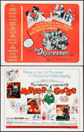 "Movie Posters:Animation, The Wacky World of Mother Goose & Other Lot (Embassy, 1967).Half Sheets (2) (22"" X 28""). Animation.. ... (Total: 2 Items)"