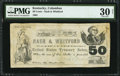 Obsoletes By State:Kentucky, Columbus, KY- Nash & Whitford 50¢ December 1862 Hughes UNL. ...