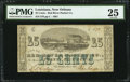 Obsoletes By State:Louisiana, New Orleans, LA- Red River Packet Co. 25¢ Dec. 1, 1861 . ...