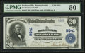 National Bank Notes:Pennsylvania, Harleysville, PA - $20 1902 Plain Back Fr. 652 The Harleysville NBCh. # 9541. ...
