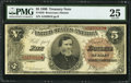 Large Size:Treasury Notes, Fr. 359 $5 1890 Treasury Note PMG Very Fine 25.. ...