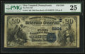 National Bank Notes:Pennsylvania, Glen Campbell, PA - $20 1882 Date Back Fr. 555 The First NB Ch. #(E)5204. ...