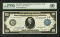Fr. 911b* $10 1914 Federal Reserve Note PMG Extremely Fine 40