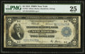 Large Size:Federal Reserve Bank Notes, Fr. 752 $2 1918 Federal Reserve Bank Note PMG Very Fine 25.. ...