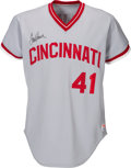 Baseball Collectibles:Uniforms, Circa 1980 Tom Seaver Game Worn Cincinnati Reds Jersey. ...