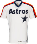 Baseball Collectibles:Uniforms, 1982 Don Sutton Game Worn Houston Astros Jersey & Cap. ...