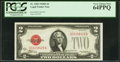 Small Size:Legal Tender Notes, Fr. 1505 $2 1928D Legal Tender Note. PCGS Very Choice New 64PPQ.....