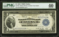 Fr. 742 $1 1918 Federal Reserve Bank Note PMG Extremely Fine 40