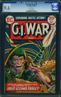 G.I. War Tales #3 (DC, 1973) CGC NM+ 9.6 White pages