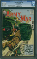 Silver Age (1956-1969):War, Our Army at War #96 (DC, 1960) CGC FN- 5.5 Cream to off-white pages.