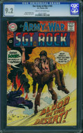 Silver Age (1956-1969):War, Our Army at War #193 (DC, 1968) CGC NM- 9.2 Cream to off-white pages.