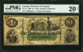 Canadian Currency: , PC-2a $1 1866.. ...