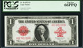 Large Size:Legal Tender Notes, Fr. 40 $1 1923 Legal Tender PCGS Gem New 66PPQ.. ...