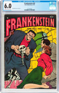 Golden Age (1938-1955):Horror, Frankenstein Comics #25 (Prize, 1953) CGC FN 6.0 Cream to off-whitepages....