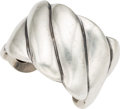 Silver Smalls, A Margot de Taxco Mexican Silver Cuff, Taxco, circa 1948-1978.Marks: MARGOT DE TAXCO, STERLING, MADE IN MEXICO, 5192, (...