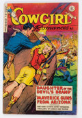Golden Age (1938-1955):Romance, Cowgirl Romances #3 (Fiction House, 1950) Condition: VG....
