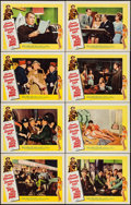 """Movie Posters:Comedy, Take Her, She's Mine (20th Century Fox, 1963). Folded, Overall: Very Fine/Near Mint. Lobby Card Set of 8 (11"""" X 14"""") with Or... (Total: 9 Items)"""