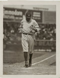 Baseball Collectibles:Photos, 1921 Babe Ruth Original Photograph by Paul Thompson, PSA/DNA Type1....