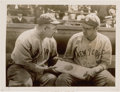 Baseball Collectibles:Photos, 1920 Babe Ruth First Year in Pinstripes Original News Photograph,PSA/DNA Type 1. ...