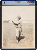 Baseball Collectibles:Photos, 1920's Babe Ruth Original News Photograph, PSA/DNA Type 1. ...
