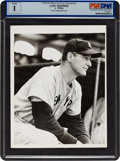 Baseball Collectibles:Photos, 1930's Lou Gehrig Original News Photograph, PSA/DNA Type 1....
