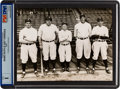 Baseball Collectibles:Photos, 1927 New York Yankees Original News Photograph, PSA/DNA Type 1. ...