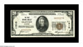 National Bank Notes:Alabama, Clanton, AL - $20 1929 Ty. 1 The First NB Ch. # 11515. This Chilton County hamlet had but one issuing bank and notes fr...